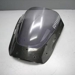 YZF-R6 マジカルレーシング製 カーボンスモークスクリーン