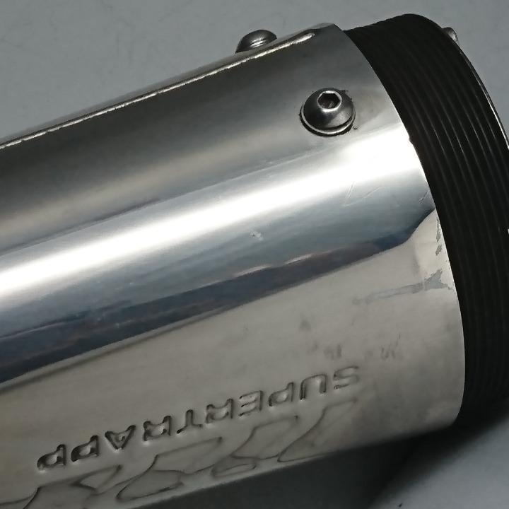 TW200 2JL スーパートラップ マフラー