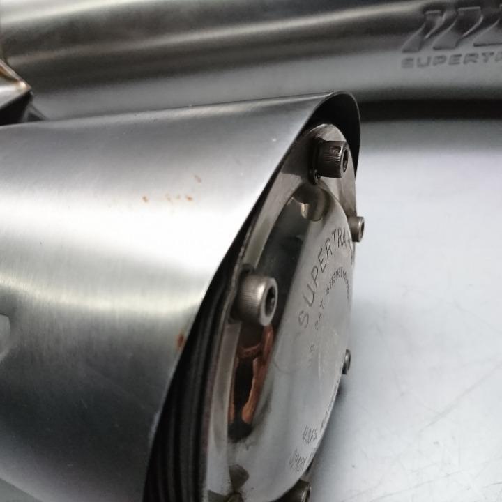 X4 SC38 スーパートラップ スリップオン サイレンサー マフラー