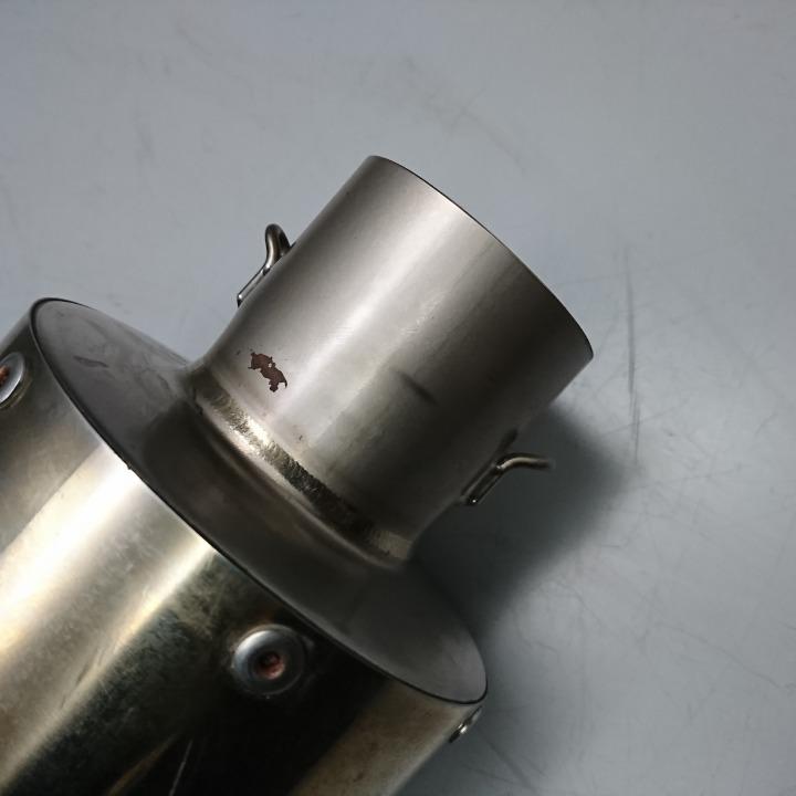 XJR1300 社外 スリップオン サイレンサー マフラー メーカー不明