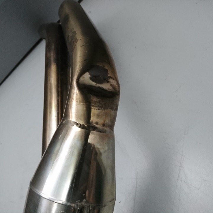 ハーレー FLSTF1450 2000年 SUNDANCE サンダンス マフラー ボマーSAN フルエキ