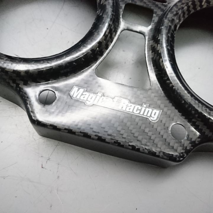 CB400SFVボルドール NC42 2011年式 マジカルレーシング : メーターカバー : カーボン柄