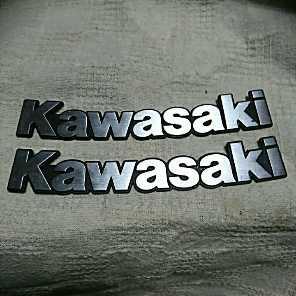 早い者勝ち‼️ Kawasaki エンブレム2個