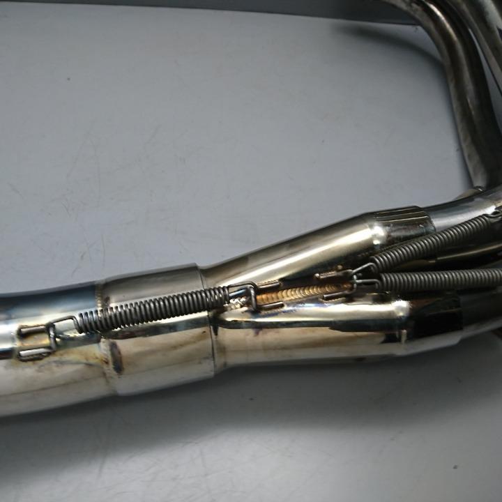ZEPHYR750 ZR750C STRIKER ストライカー フルエキ マフラー ゼファー750
