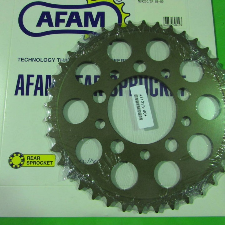 NSR250/SP 88-89AFAM Rアルミスプロケット 520-40