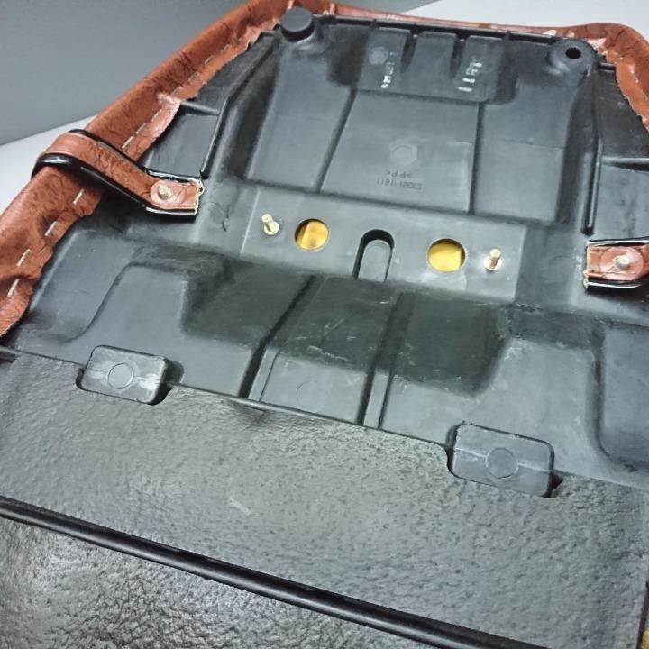ゼファーχ用 タックロールシート表皮張替え済み ZR400G ZEPHYR X