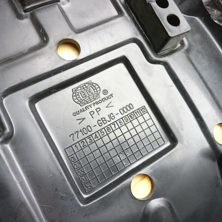 スーパーカブ JA07 ロングフラットシート 東京堂シート