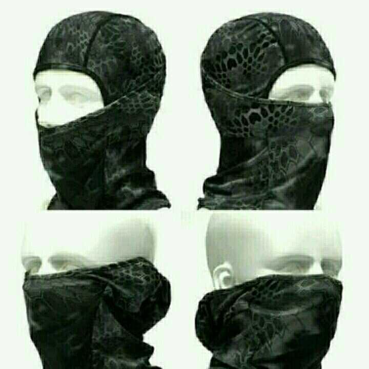 高機能3Wayフェイスマスク サイズFree 迷彩