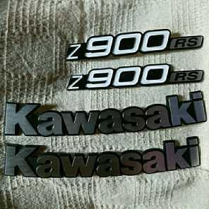 Kawasakiエンブレム&Z900RSエンブレム セット