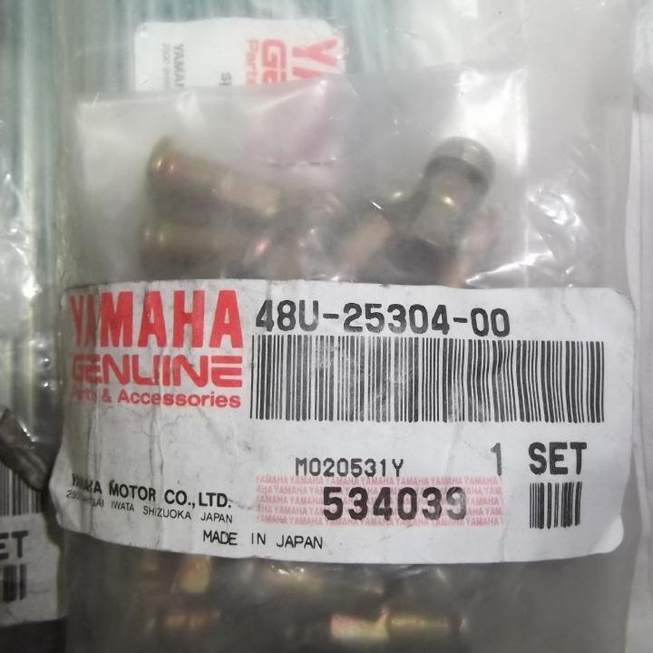 新品 SR400 SR500 純正 前後ホイール スポークセット 1JN-25104-00 48U-25304-00 6
