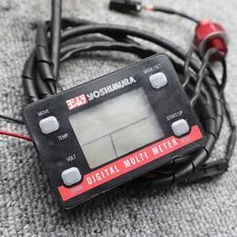 ヨシムラ デジタルマルチメーター センサー&フィッティング付き