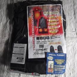 新品・未開封 Nプロジェクト ベストヒート Q2D-PSC-394-561 定価21,000円 電熱ベスト 80