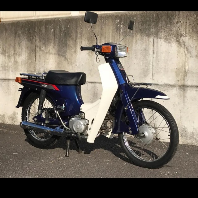 長野県 美車 スズキ バーディー80 セル付き