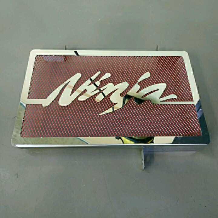 Ninja250SL ラジエターカバー 赤