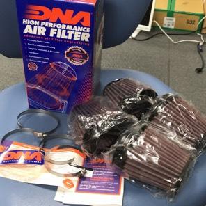 DNA φ54 パワーフィルター 4個入り オーバルテーパードクランプ