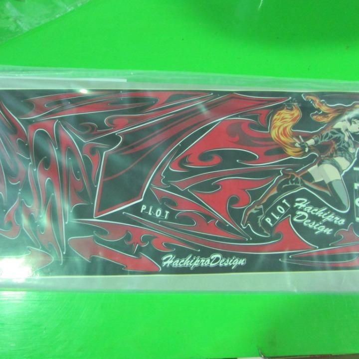 ニンジャ250  デカールキット プロトタン レッド Ninja250 13-17