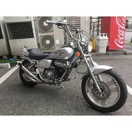 ホンダ マグナ50(AC13) モーターサイクルショー2019フェアー対象車
