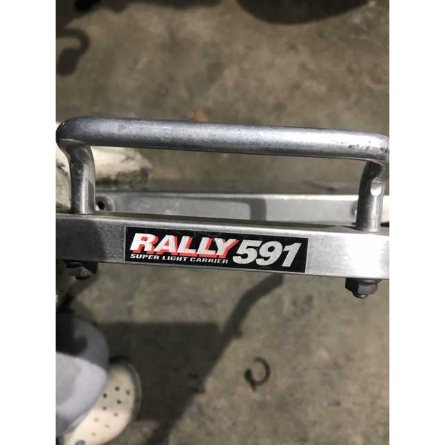 wr250r  RALLY591 リアキャリア