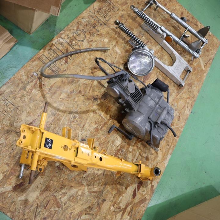 モンキー フレーム/エンジン/フォーク/スイングアームセット