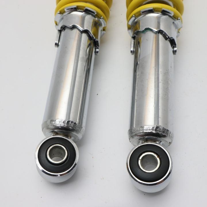 「新品未使用」リアサスペンション イエロー340mmΦ10