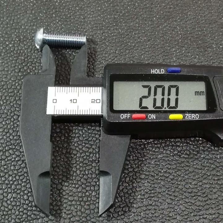 メッキ マイナスボルトM6-20mm 30本セット