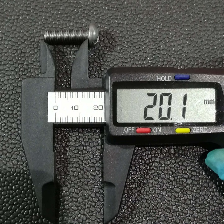 鉄  マイナスボルトM6-20mm 30本セット