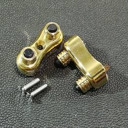 真鍮製 ミニ スイッチ 2個セット ハーレー スポーツスター ダイナ ブラス
