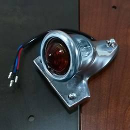 アルミ製 ミニクロッカーテールランプ ビンテージ ナンバー灯あり