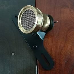 真鍮製 ホーンテールランプ LED ナンバー灯あり ブラス