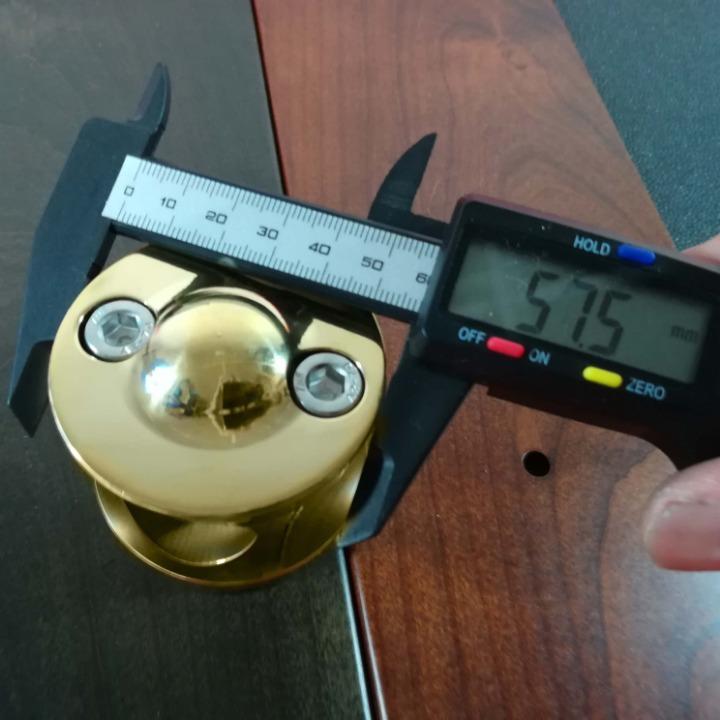 真鍮製 ハンドルライザー ポスト type2 1インチハンドル用 ドラッグスター マグナ スティード W650 W800