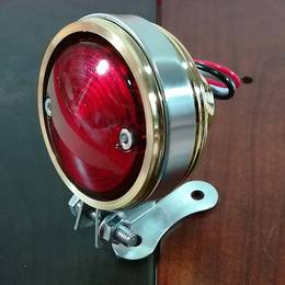 真鍮製 テールランプ ブラス LED SR ドラッグスター レブル