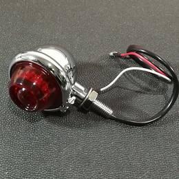 GUID風テールランプ TYPE2 LED メッキ SR ドラッグスター レブル