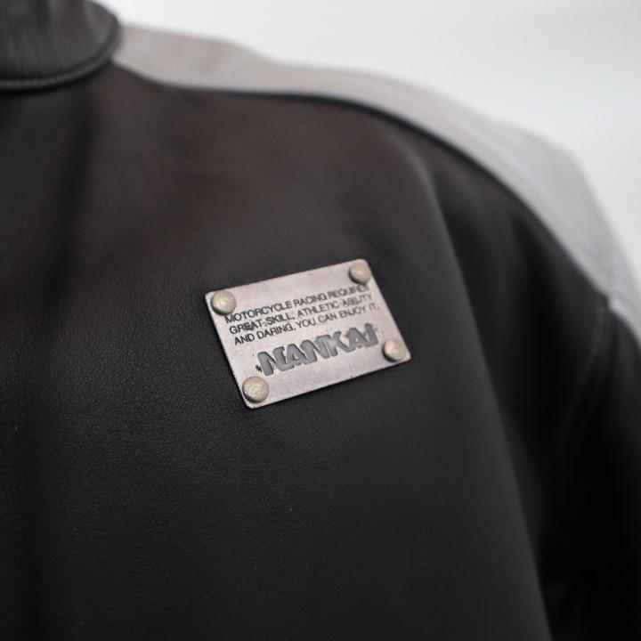 未使用南海ジャケット 革 RDJ-16A 802-1161 LL
