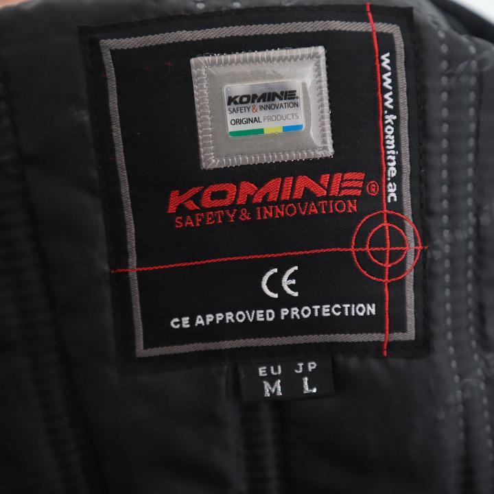 新品未使用 コミネJK-581Lサイズ PROTECT WJKT-AGATA BLK