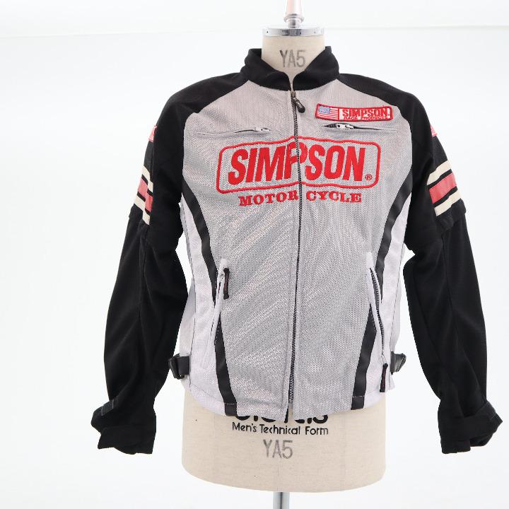 未使用シンプソン ジャケット サイズL SJ-0117 グレー