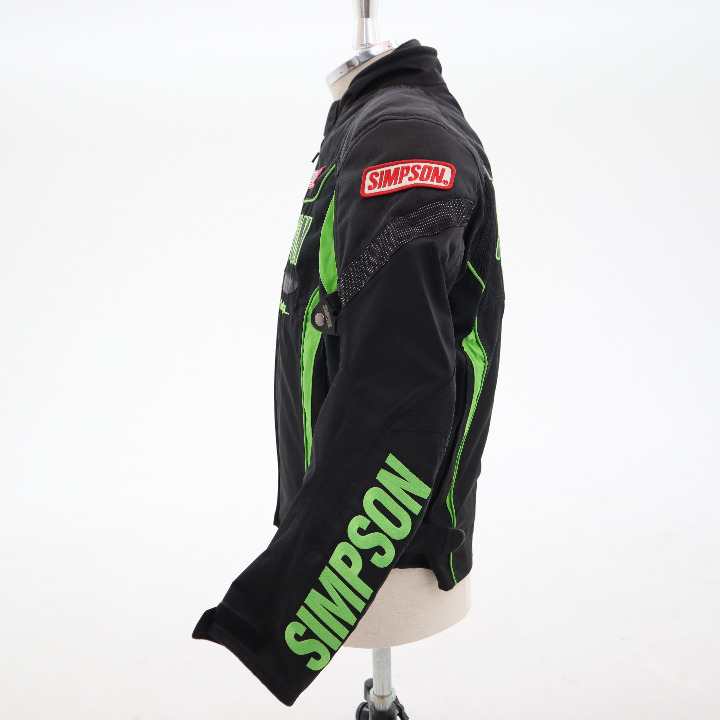 未使用シンプソン ジャケット サイズL SJ-2132 グリーン