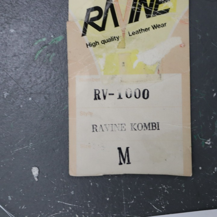 RAVINE コンビレザージャケット/パンツ セパレート RV-1000