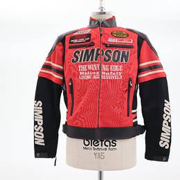 未使用シンプソン ジャケット サイズL SJ-0115 レッド