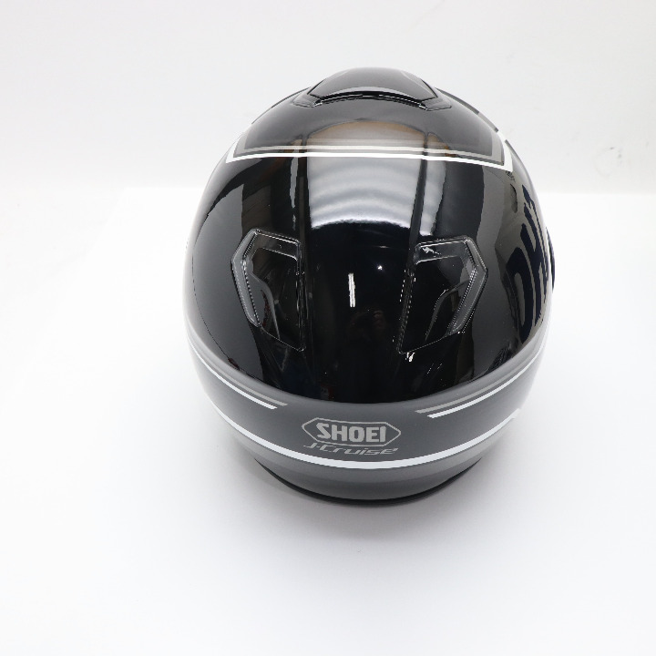 茶ミ SHOEI J-CRUISE STOLD ブラック/グレー サイズL