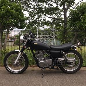 ヤマハ SR400 カスタム 2001年式 車検来年9月まで
