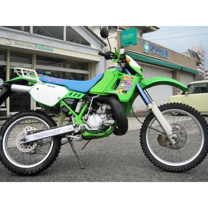 KDX200SR 2サイクルエンジン 倒立サスペンション