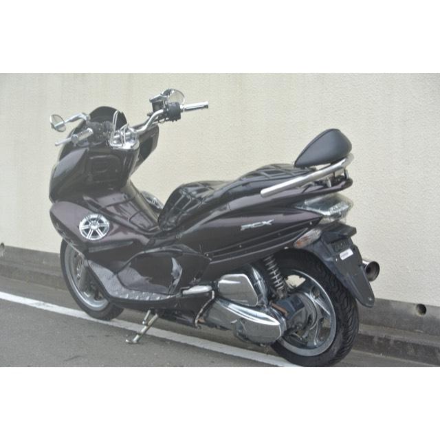 【HONDA PCX125】オールブラウンカラー!!エナメルシート新品!!