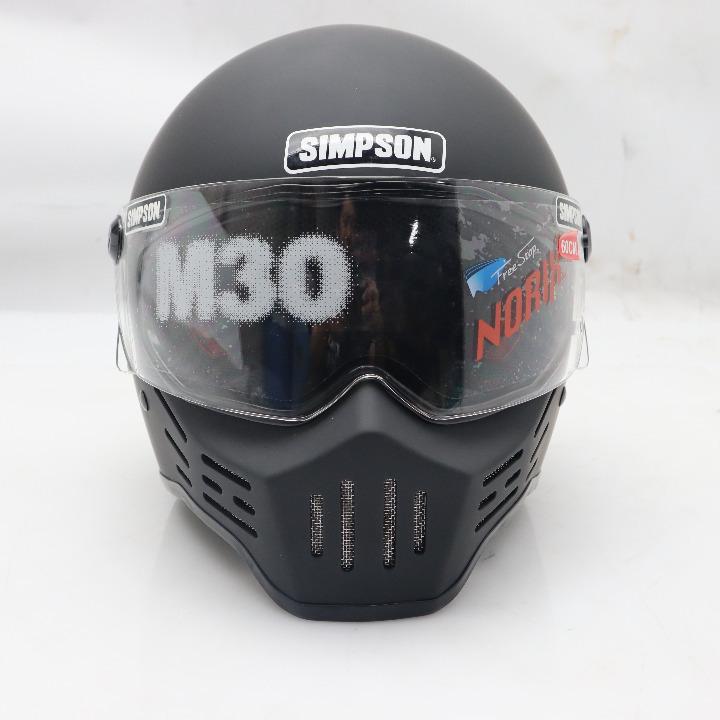 未使用品★SIMPSON(シンプソン) M30 マットブラック 60cm