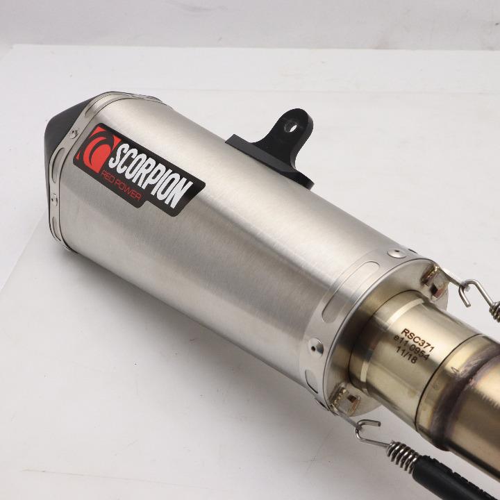 SV650 16~18 スコーピオンスリップオンマフラー RSI119SEO
