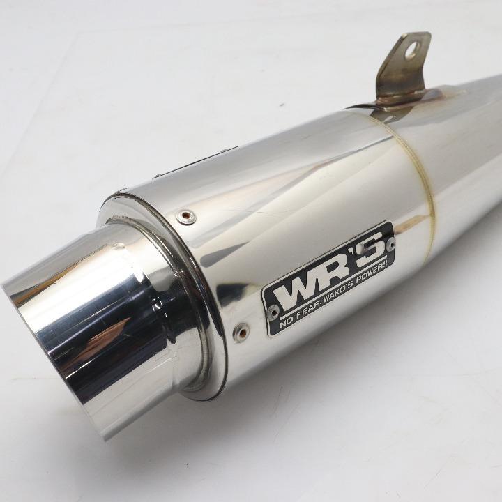 CB400SF/SB(08~17)NC42E WR'S製 スリップオン/マフラー JMCA1111093009