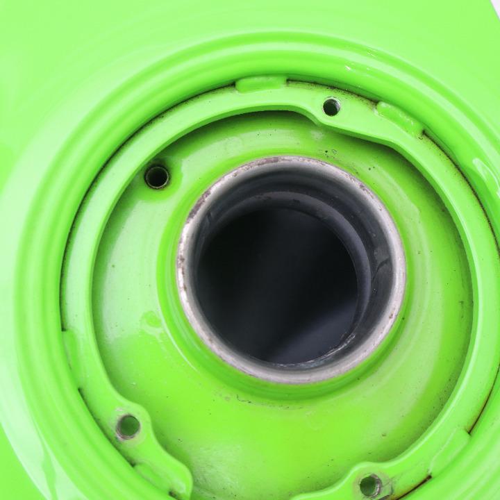 ZRX1200R(ライムグリーン)ガソリンタンク/燃料タンク ガソリンコック付属 Harri'sタンクパッド