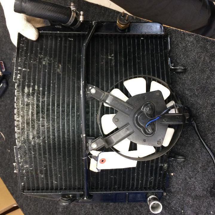 ZRX1200R 社外 ラウンドラジエター/ラジエーター