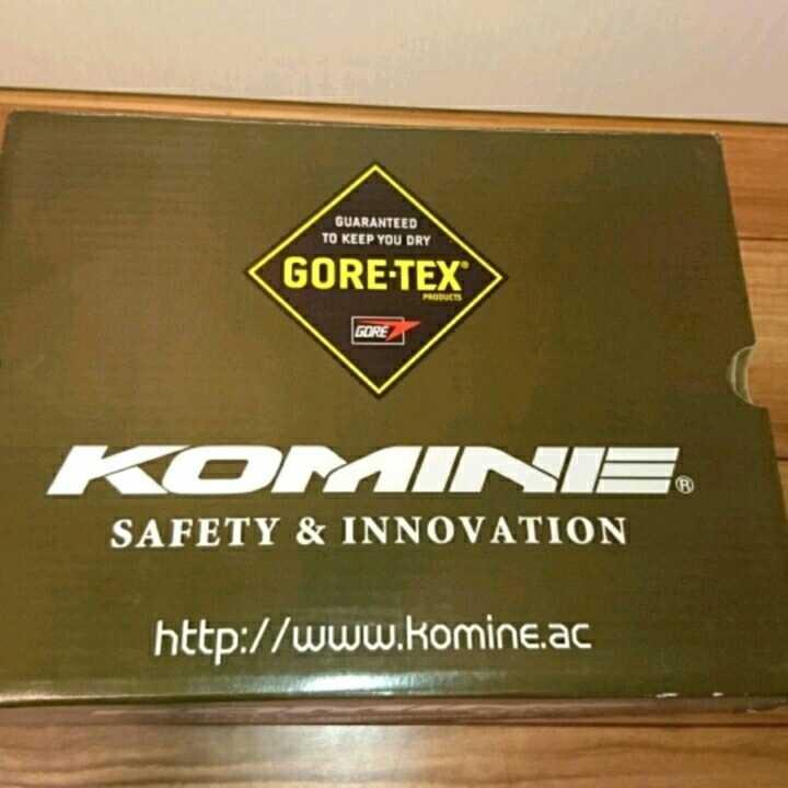 KOMINE BK-065 GORE-TEX(R) ショートブーツ ブラウン 25cm