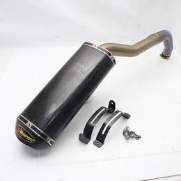 CBR1000RR SC57 社外 アクラポビッチ/AKRAPOVIC チタン/カーボン スリップオン マフラー/サイレ