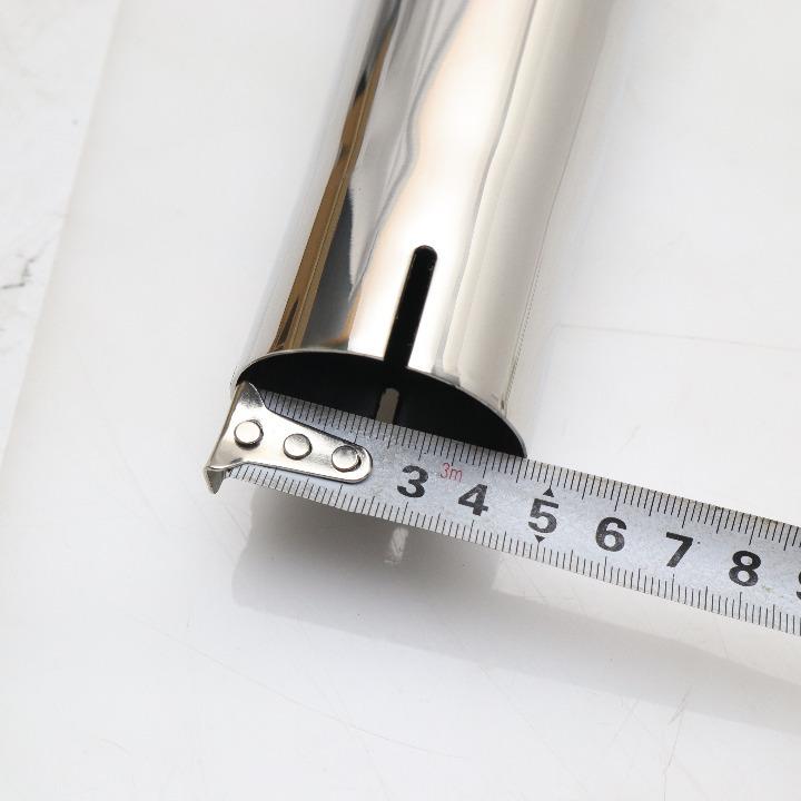 汎用 スーパートラップ マフラー差し込みΦ48 エンドΦ100 全長480mm 品番476-17510